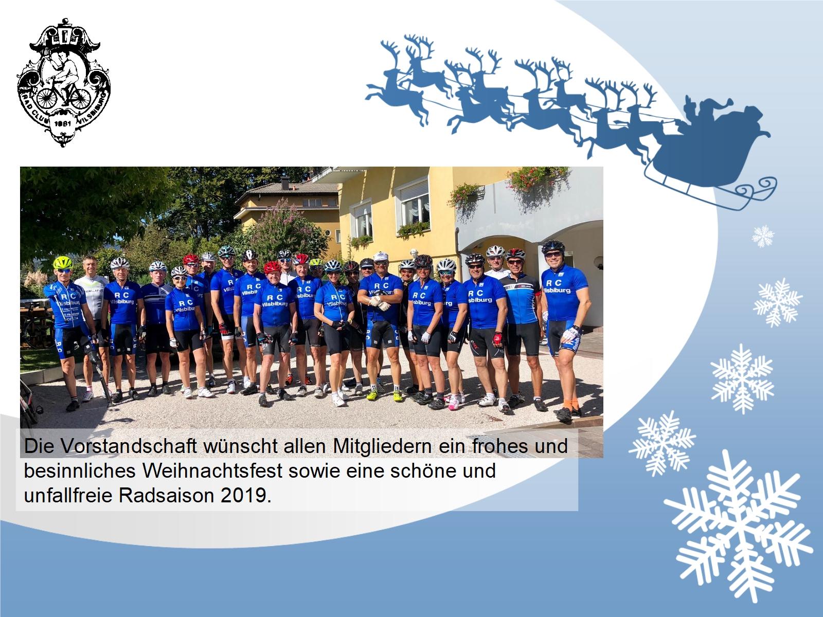 Weihnachtsgrüße Team.Weihnachtsgrüße Rc Vilsbiburg E V